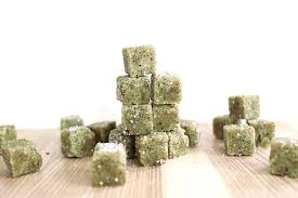 DIY Matcha Green Tea Sugar Scrub Cubes Shrimp Salad Circus