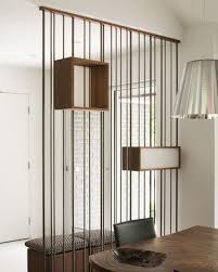 separateur de chambre design d intérieur séparateur de pièce original étagères