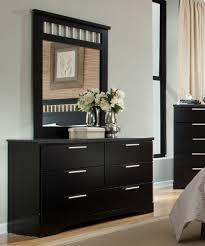 Black Dresser 6 Drawer by Standard Furniture Atlanta 6 Drawer Dresser W Mirror In Ebony