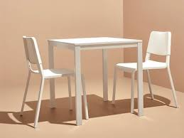 TEODORES VANGSTA Table And 2 Chairs White