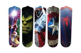 Ceiling Fan Blade Covers by Super Hero Ceiling Fan Blades