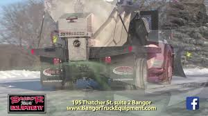 BANGOR TRUCK EQUIPMENT Steel Caster - YouTube