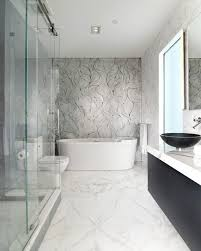 calacatta gold bath by epc management modern bathroom new