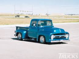 Classic Trucks | Custom Classic Trucks Readers Rides 1956 Ford F100 ...