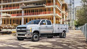 100 Medium Duty Trucks For Sale Chevy Debuts Gigantic Silverados At The Work Truck Show
