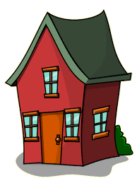480x640 Free Cute House Clipart Image