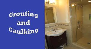Unsanded Tile Grout Caulk by Schluter Systems Bathroom Start To Finish Part 8 Grouting And