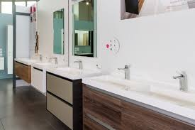 cabinet st michel st michel bathroomware showroom topview photography