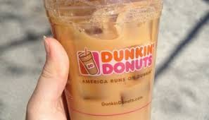 Large Pumpkin Iced Coffee Dunkin Donuts by Review Dunkin U0027 Donuts Frosted Sugar Cookie Donut And Gingerbread