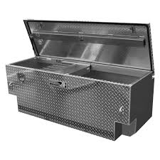 100 Diamond Plate Truck Box Highway Products 3022014 Single Lid 5th Wheel Tool With
