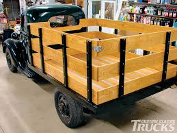 Http://image.customclassictrucks.com/f/25952132/0912cct_13_z+ ... Woodwork Wood Truck Bed Plans Pdf This Truck Has A Cargo Box Made Of Wood Diwhy Bed Chevy Ssr Forum Photo Gallery 57 Save Our Oceans How To Build Wooden For Ford Ranger Or Mazda B2300 Wmv Dog Kennel Beds Building Options C10 And Gmc Trucks Hot Rod Network Jeff Majors Bedwood Tips Tricks 2011 Photos Side Rails Wanted Mopar Flathead Show Us Sidesstake Sides Please The 1947 Present