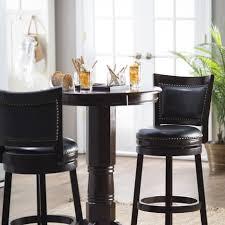 bar stools indoor bistro set walmart round pub table sets 3 pc