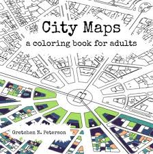 A Coloring Book For The Map Obsessed CityLab