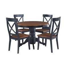 5 Pc Round Pedestal Dining Table