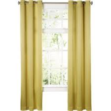 Yellow And White Striped Curtains by Yellow U0026 Gold Curtains U0026 Drapes You U0027ll Love Wayfair