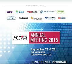 Optumrx Pharmacy Help Desk by 2015 Pcma Annual Meeting Program Book Jpg