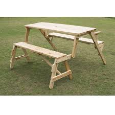 amazon com outsunny 2 in 1 convertible picnic table u0026 garden