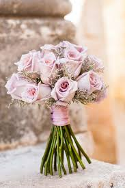 A Pastel Pink Bouquet Is Ideal For Your Seasonal Wedding Flowers Spring