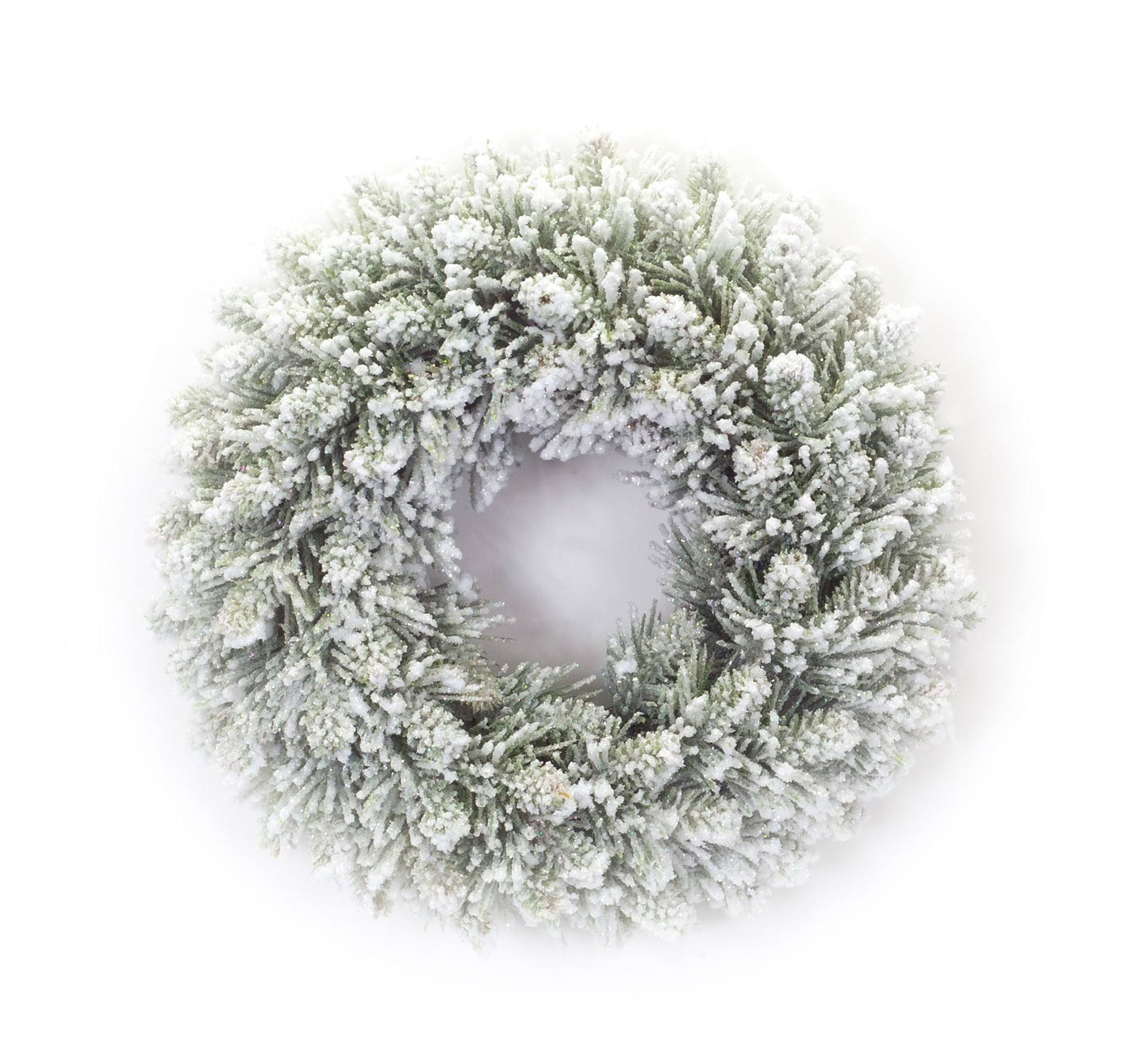 Melrose Wreath Snowy Pine Candle Ring One-Size