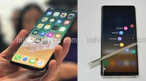 Apple iPhone X vs Samsung Galaxy Note 8 Specifications features