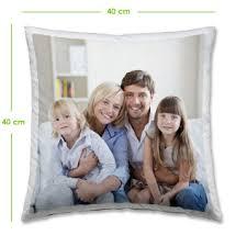 coussin avec photo personnalise coussin personnalisé avec une photo de famille magnifique cadeau