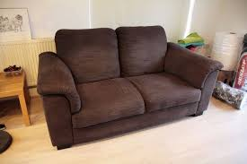 ikea tidafors two seat sofa in dark brown will fit in your car