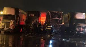 100 Two Men And A Truck Cleveland 4 Semi Trucks Caught Fire On S West Side