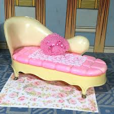 Marx Little Hostess CHAISE LOUNGE For BEDROOM Vintage ...