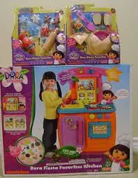 Dora The Explorer Fiesta Kitchen Set by Fisher Price Dora The Explorer Kitchen Lets Go Adventure Playset