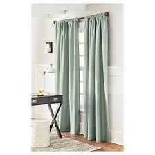 solid metallic window curtain panel threshold target