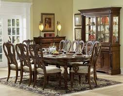 Choosing The Right Dining Room Sets Mahogany Design With Oval Tabletop Combine