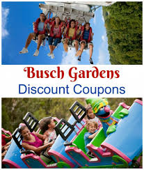 Busch Gardens Halloween Va by Busch Gardens Discount Coupons Busch Gardens Williamsburg