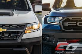 2018 Ford Ranger Raptor Vs 2018 Chevrolet Colorado ZR2 Diesel: Tale ...