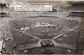 Jehovah Witness No Halloween by On This Date Jehovah U0027s Witnesses Made Yankee Stadium History