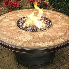 tiled pit outdoor kitchen tabletop gas tiled ceramic tile
