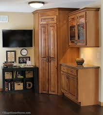 to kitchen cabinets corner pantry with corner kitchen pantry