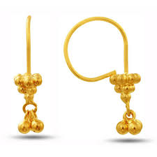 Shop 14 Karat Tricolor Circle Leverback Dangle Earrings On Sale