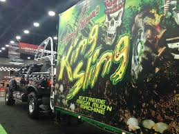 GALLERY: King Sling   Medium Duty Work Truck Info World Finals Will Not Suffer With Tom And Dennis Sitting Out All Monster Truck Photo Album Andersons Muddy Motsports Park Anderson His Mega Truck King Sling One Bad B Profile His Grave Digger Cool Rides Online About Living The Dream Racing Driving Also Driver Of Recovering After Scary Crash In Gallery Medium Duty Work Info Check Insane Mud The In Wikipedia