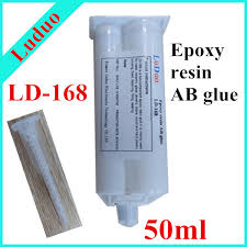 ld 168 a b transparent epoxy resin component glue for