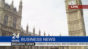 4k News Reporter Interviewing Businessman Or Politician Outside London Houses Of Parliament Shot On RED Epic Stock Video Footage