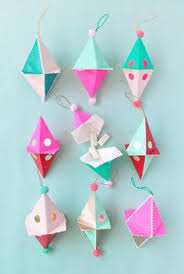 Candy Filled Paper Plate Ornaments