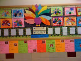Kindergarten Thanksgiving Door Decorations by Adjectives Thanksgiving Bulletin Board Myclassroomideas Com