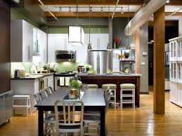 Best Floor For Kitchen And Dining Room by L Shaped Kitchen Design Pictures Ideas U0026 Tips From Hgtv Hgtv