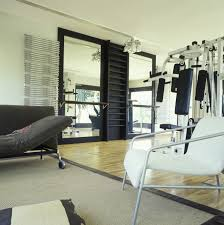 Home Gym Photos, Design, Ideas, Remodel, And Decor - Lonny Apartnthomegym Interior Design Ideas 65 Best Home Gym Designs For Small Room 2017 Youtube 9 Gyms Fitness Inspiration Hgtvs Decorating Bvs Uber Cool Dad Just Saying Kids Idea Playing Beds Decorations For Dijiz Penthouse Home Gym Design Precious Beautiful Modern Pictures Astounding Decoration Equipment Then Retro And As 25 Gyms Ideas On Pinterest 13 Laundry Enchanting With Red Wall Color Gray