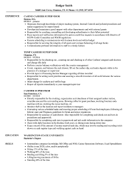Download Cashier Supervisor Resume Sample As Image File