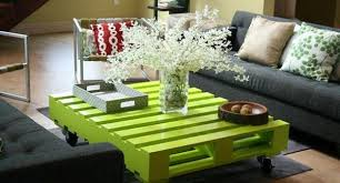 Wood Pallets Coffee Table