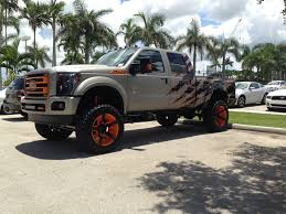 100 Custom Lifted Trucks F250 8 Fabtech With 22 Rock Star 2s Califonia