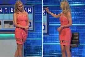 Countdowns Rachel Riley Stuns Viewers In Daring See Through Dress