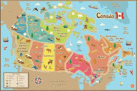 Wall Mural Decals Canada by Wallpops Wallpops Kids Canada Map Wall Mural Wayfair