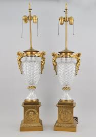 Square Crystal Lamp Finials by Lamps U0026 Lighting May 2010 Auction